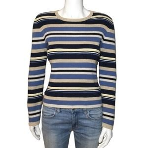 Tommy Hilfiger Striped 90's Style Pullover Sweater